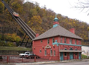 Monongahela Incline - Lower Station of Monongahela Incline