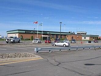 Mont-Joli Airport - Image: Mont Joli Airport 1