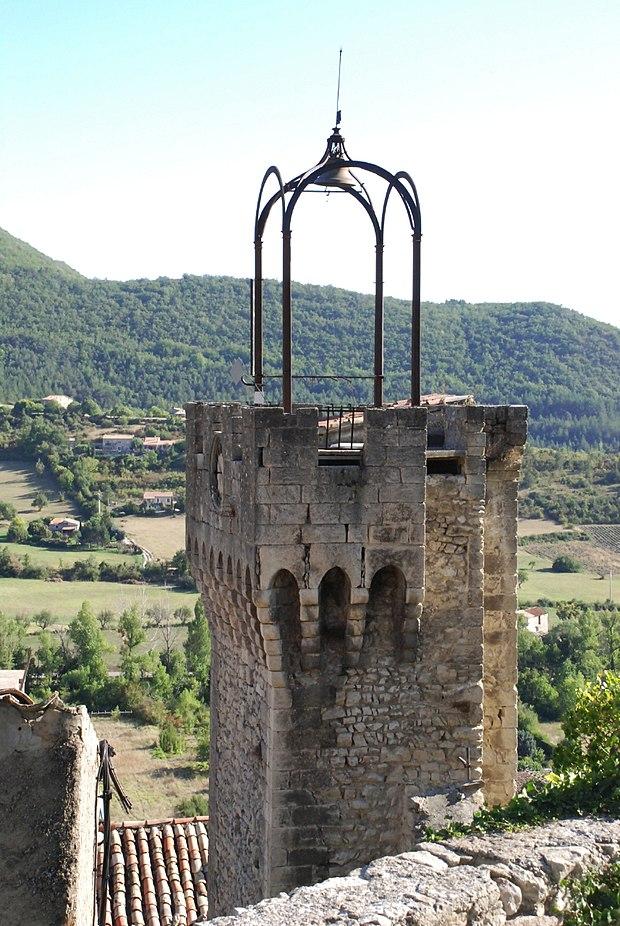 Monument historique à Montbrun-les-Bains