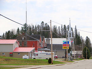 Montcerf-Lytton, Quebec - Montcerf village centre
