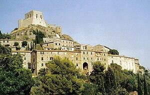 Montemassi - View of Montemassi