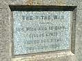 Monument plaque to the tithe war - geograph.org.uk - 729079.jpg