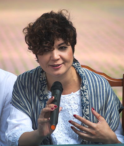 Співзасновник і координатор громадської ініціативи «КримSOS» Таміла Ташева