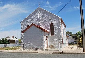 Morgan, South Australia - Image: Morgan Uniting Church