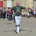 Morris dancer, York (26634054096).jpg