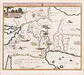 Mortier, Situation du Paradise Terrestre, 1700 Cornell CUL PJM 1014 01.jpg