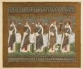 Mosaïques Byzantines, Procession des Saintes, basilique Saint-Apollinaire-le-neuf.png