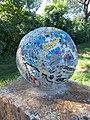 Mosaic Sphere by György Urbán, 2020 Sárospatak.jpg