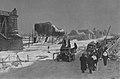 Most pontonowy przy moście Poniatowskiego 1945.jpg