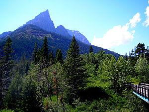 Mount Blakiston - Image: Mount Blakiston