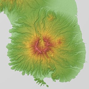 Mount Mariveles - Relief Map