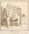 Mr. Ben- Read, A Member of Hogarth's Club at the Bedford Arms Tavern, Drawn by him about the Year 1757 MET DP825642.jpg