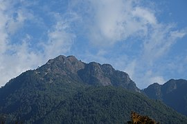 Mt Tao summit seen from Wuling Farm.jpg