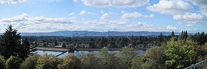Mount Tabor, Portland, Oregon - Downtown Portland, Oregon, from on Mt. Tabor Park.
