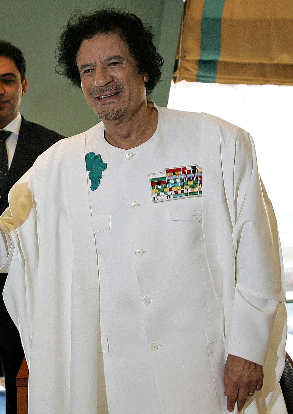 Muammar al-Gaddafi-2-30112006