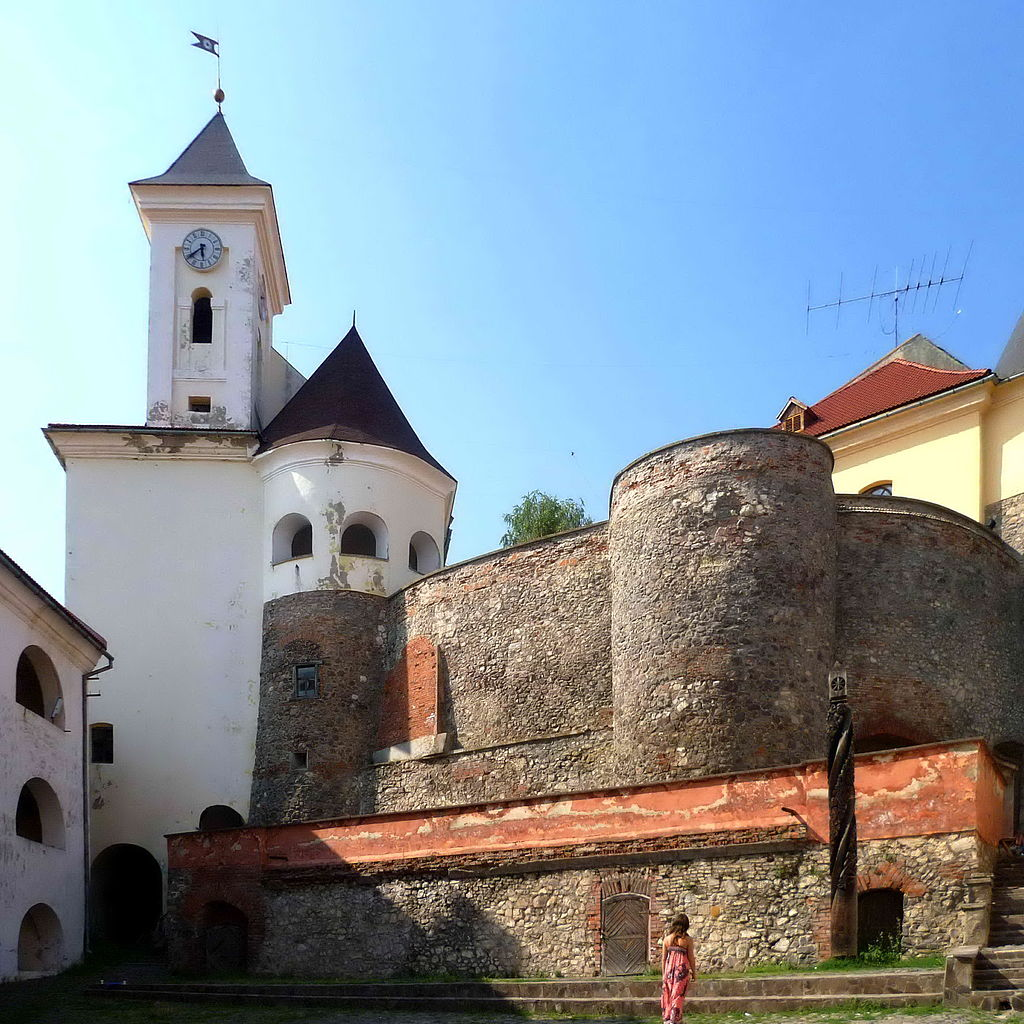 Zamek Palanka w Mukaczewie