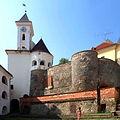 Mukachevo Zakarpatska-Castle Palanok-general view.jpg