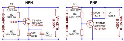 Простейшая схема регулятора тока фото 932