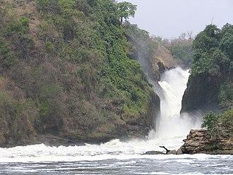 Murchison Falls - Image: Murchison Falls 573x 430