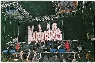 Murderdolls American horror punk and heavy metal band