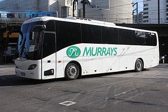 Murrays - Bonluck JXK6127 on Flinders Street, Melbourne in October 2013