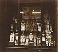 Musée égyptien - Intérieur d'une salle - nombreuses statuettes memphites, avec le nain Khnoumhotep, maître de la garde robe - Le Caire - Médiathèque de l'architecture et du patrimoine - AP62T163561.jpg