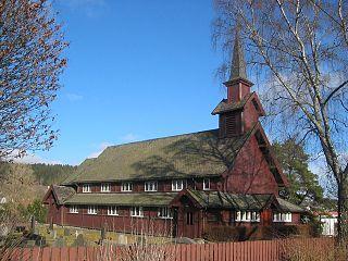 Mysen village in Norway