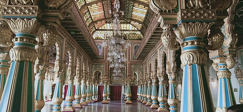 File:Mysore Palace inside.jpg
