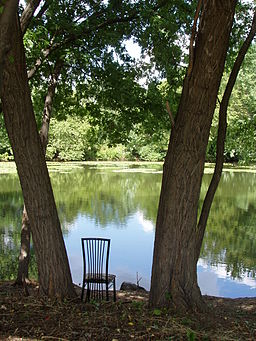 Mystic River, very near Grandfather's House, Medford, Massachusetts.JPG