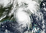NASA Eyes Hurricane Michael Moving Inland (31373832458).jpg