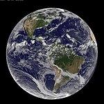 NASA GOES-13 Full Disk view of Earth August 3, 2010 (4857284173).jpg