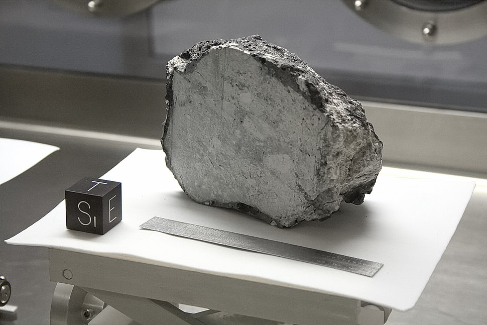 NASA Lunar Sample 60015
