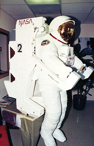 Space and survival - Spacesuit at the San Diego Air and Space Museum