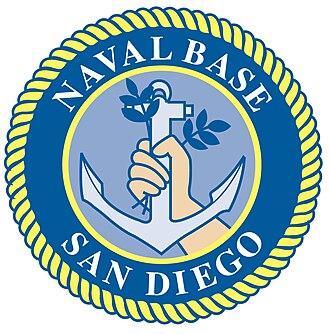 Naval Base San Diego - Image: NBSD Logo