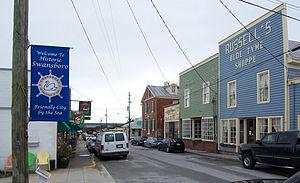 Swansboro, North Carolina - Image: NC Swansboro downtown