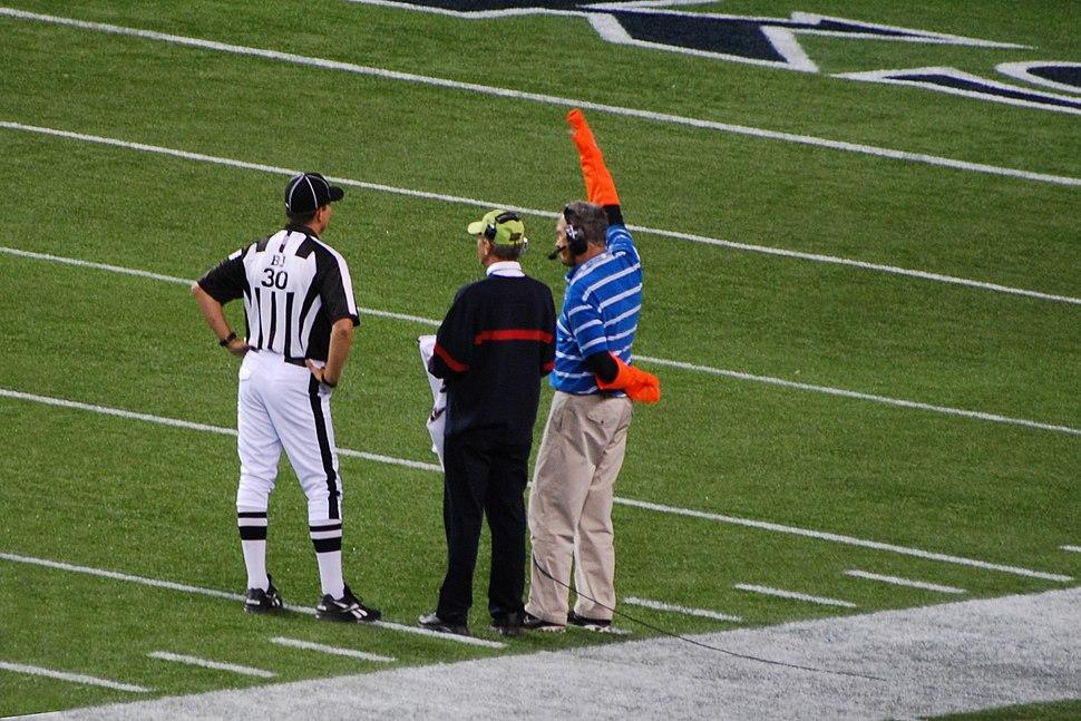 NFL Sideline Television Coordinators