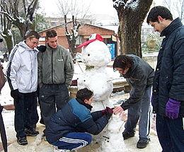 Muñeco de nieve - Wikipedia, la enciclopedia libre