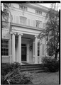 NORTHEAST FRONT, DETAIL OF DOORWAY - Causey House, 2 Causey Avenue, Milford, Sussex County, DE HABS DEL,3-MILF,2-6.tif