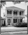 NORTH (FRONT) ELEVATION (VERTICAL) - Blum House, 630 Louisiana Avenue, Baton Rouge, East Baton Rouge Parish, LA HABS LA,17-BATRO,1-2.tif