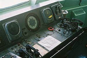 NS Savannah - Close-up of Main Navigation Console.jpg