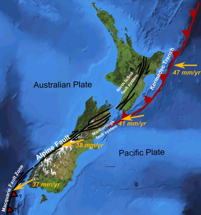 Liste Von Erdbeben In Neuseeland Wikiwand