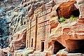 Nabataeans tombs. Petra.jpg