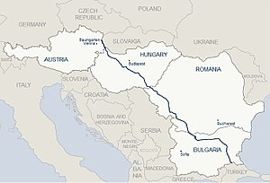 Nabucco pipeline - Image: Nabucco West Route