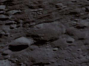 Nagaoka (crater) - Image: Nagaoka crater AS13 62 8915