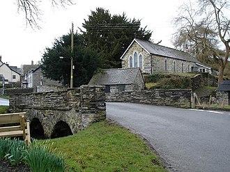 Nantglyn - Image: Nantglyn geograph.org.uk 142418