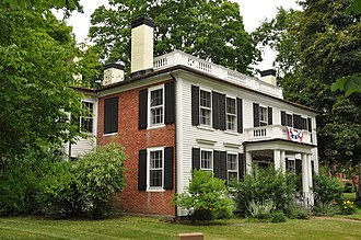 National Register of Historic Places listings in Hillsborough County, New Hampshire - Image: Nashua NH Abbot House