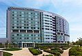 Nationwide Childrens Hospital, Exterior from Fragrance Maze, May 2013.jpg