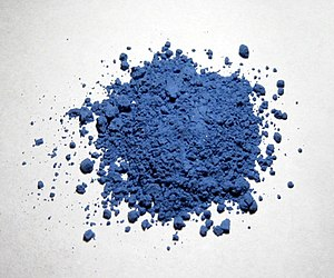 Pigment - Natural ultramarine pigment in powdered form
