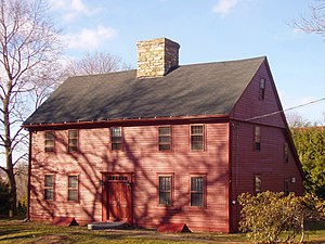 Saltbox - c. 1672 Nehemiah Royce House Wallingford, Connecticut