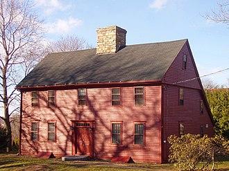 Saltbox - c. 1672 Nehemiah Royce House, Wallingford, Connecticut